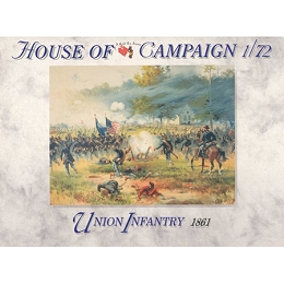 1/72 ACW: 1861 Union Infantry Box (Call to Arms)