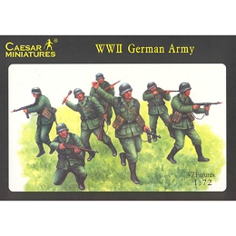 1/72 WWII German Army Box (Caesar)