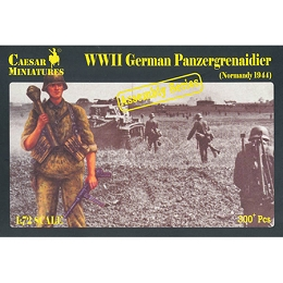 1/72 WWII German Panzergrenadier Normandy 1944 (Caesar)