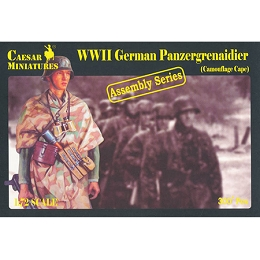 1/72 WWII German Panzergrenadier Camouflage Cape (Caesar)