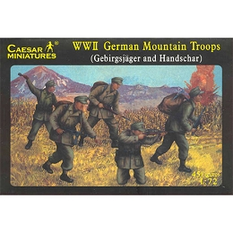 1/72 WWII German Mountain troops Box (Caesar)