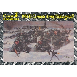 1/72 WWII German Army Stalingrad Box (Caesar)