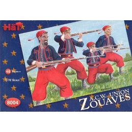 1/72 Union Zouaves Box (HaT)