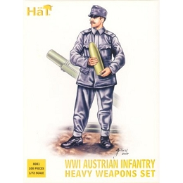 1/72 WWI Austrian Hvy Infantry Box (HaT)