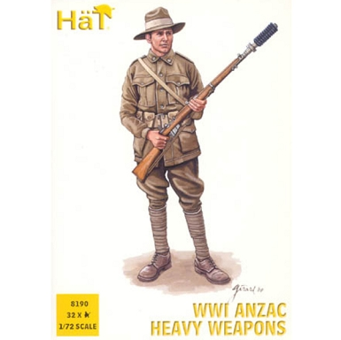 1/72 WWI ANZAC Hvy Weapons Box (HaT)