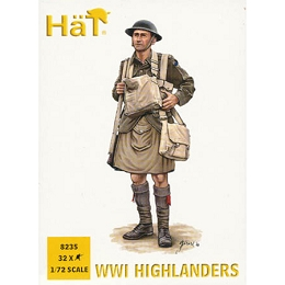 1/72 WW1 Highlanders Box (HaT)