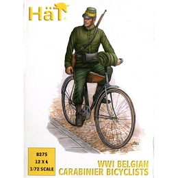 1/72 WWI Belgian Carabinier Bicyclist Box (HaT)