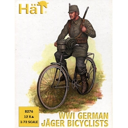 1/72 WWI German Jaeger Bicyclist Box (HaT)