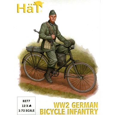 1/72 WWII German  Bicycle Infantry Box (HaT)