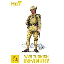 1/72 WWI Turkish Infantry Box (HaT)