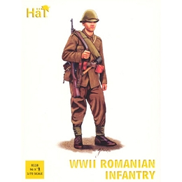 1/72 WWII Romania Infantry Box (HaT)