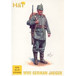 1/72 WWI German Jaegers Box (HaT)