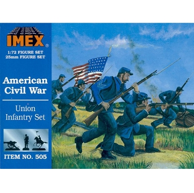 1/72 Union Infantry Civil War Set (IMEX)