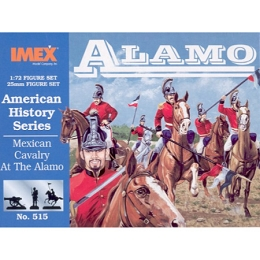 1/72 Mexican Cavalry At The Alamo (IMEX)