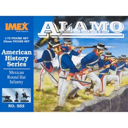 1/72 Mexican Round Hat Infantry (IMEX)