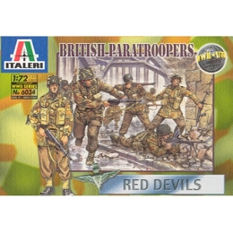 1/72 British Paratroopers: Red Devils Box (Italeri)