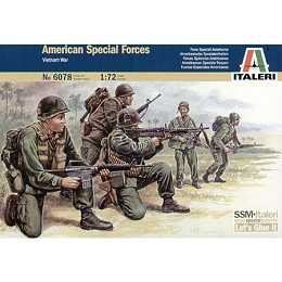 1/72 Vietnam U.S. Special Forces Box (Italeri)
