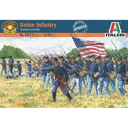 1/72 ACW Union Infantry Box (Italeri)