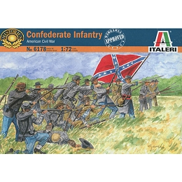 1/72 ACW Confederate Infantry Box (Italeri)