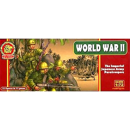 1/72 WWII Ultima Ratio: WWII Imperial Japanese Army Paratroopers (Mars)