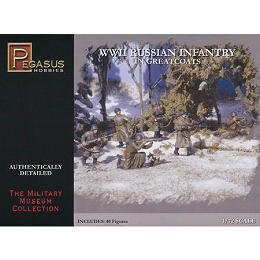 1/72 WW2 Russian Greatcoats Box (Pegasus)
