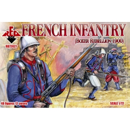 1/72 French Infantry Box (RedBox)