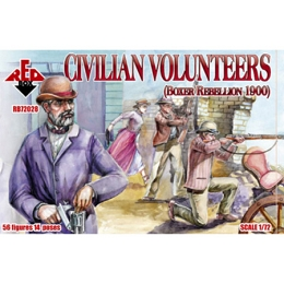 1/72 Civilian Volunteers Box (RedBox)