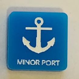 HBG Minor Port Marker (Acrylic) x5 (Discontinued)