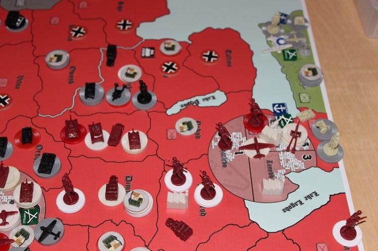 Hbg Barbarossa Game Vinyl Map Amp Rules