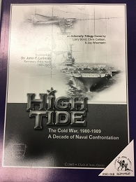 High Tide-Data Scenario Booklet; The Cold War 1980-1989
