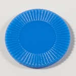 50 Blue Plastic Chips