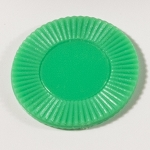 50 Green Plastic Chips