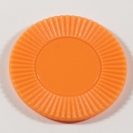 50 Orange Plastic Chips