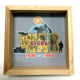 Wooden Dice Tray -Global War 1936