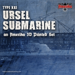 Project Ursel-Type XXI U-boat - Amerika Expansion
