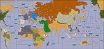 Global War 1914 (Axis & Allies WW1 Variant Map)