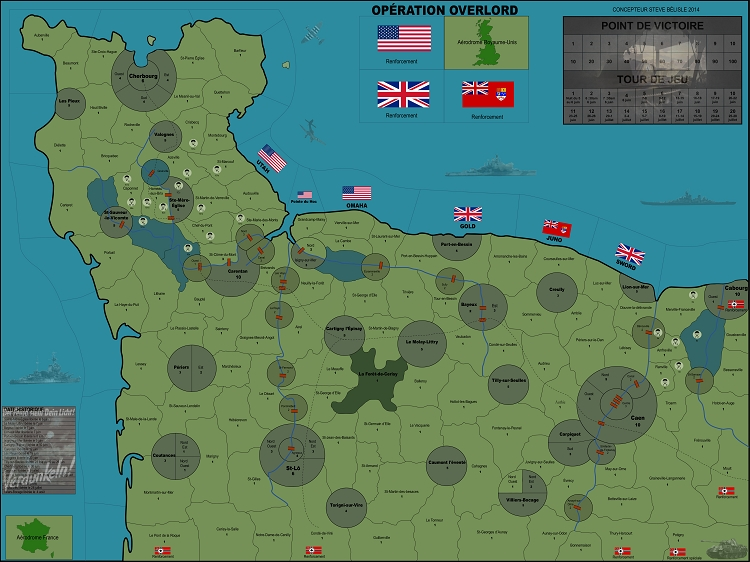 Operation Overlordgame Vinyl Map Rules