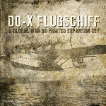 Do-X  Flugschiff Flying Ship 3D Printed set