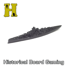 'Battle Pieces'' - German Exp. - Bismarck Battleship (X5) (Damaged)