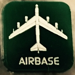 HBG Cold War Airbase (Large) Marker (Acrylic) x5