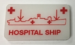 HBG Hospital Ship Marker (Acrylic) x5