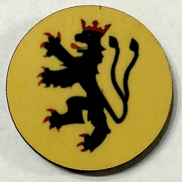 HBG Principality of Ansbach (1219-1792) Roundel (10/Set)