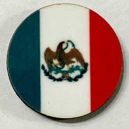 HBG Mexico Flag (1823-1864,1867-1893 ) 10/Set