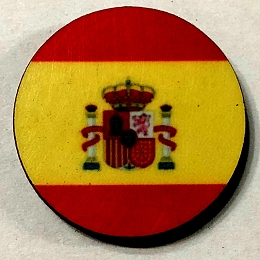 HBG Kingdom of Spain Flag (1785-P)  (10/set)