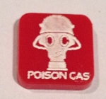 HBG Poison Gas Marker (Red) (Acrylic) x5