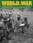 World at War #51 Magazine & Game (Pacific Battles: Malaya)