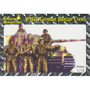 1/72 WWII German Panzer Crew Box (Caesar)