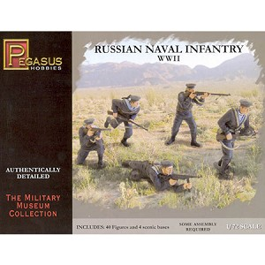 1/72 WW2 Russian Naval infantry Box (Pegasus)