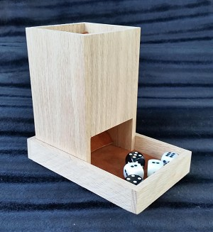 Dice Tower (Red Oak)