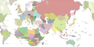 Global War 2025 Map (Historical Board Gaming)